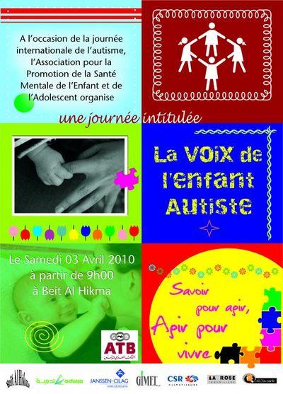 Affiche autisme