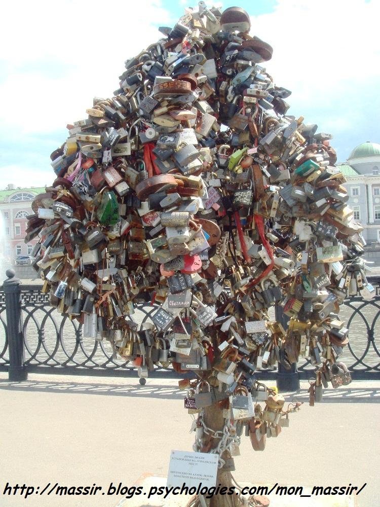 Arbre de l'amour Moscou 1