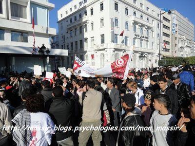 Manif des femmes - Tunis
