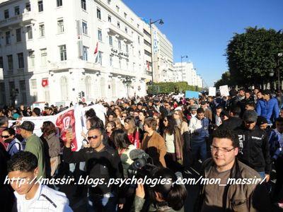 Manif des femmes 5 - Tunis