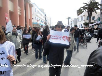 Marche laïcité Sousse 8