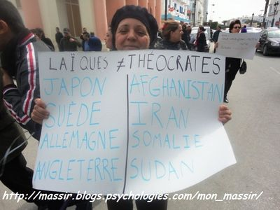Marche laïcité Sousse 10