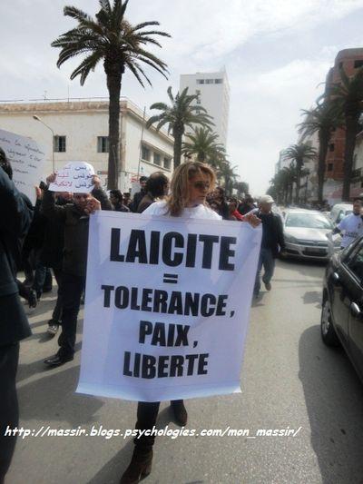 Marche laïcité Sousse 21
