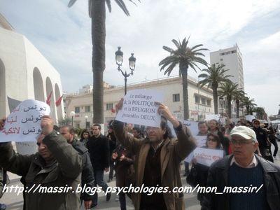 Marche laïcité Sousse 22