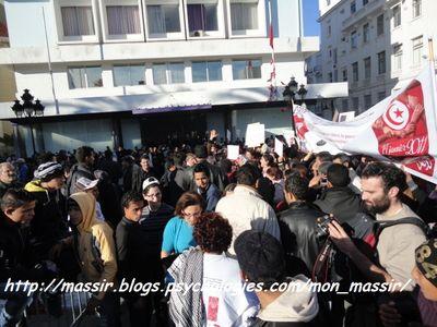 Manif des femmes 2 - Tunis