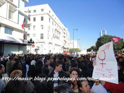 Manif des femmes 10 - Tunis