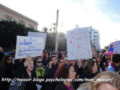 Manif des femmes 17 - Tunis