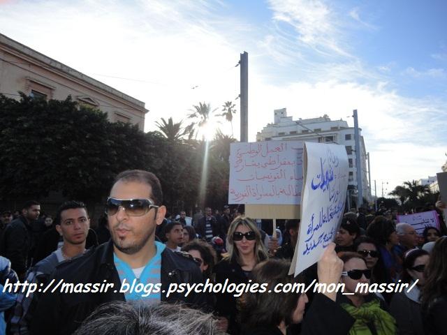 Manif des femmes 18 - Tunis