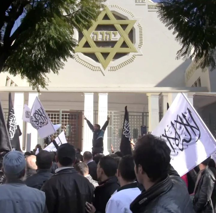 Synagogue et islamistes
