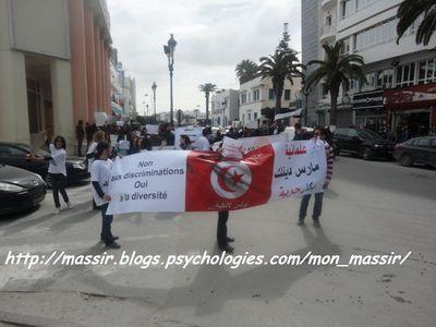 Marche laïcité Sousse 1