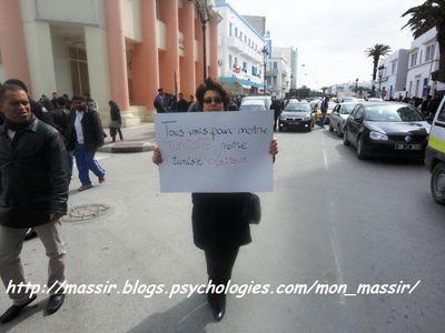 Marche laïcité Sousse 11