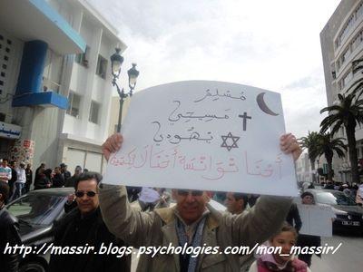 Marche laïcité Sousse 12