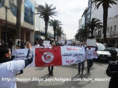 Marche laïcité Sousse 15