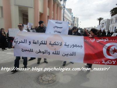 Marche laïcité Sousse 3