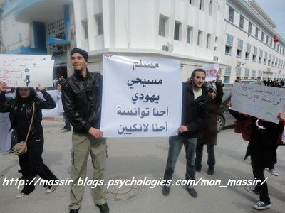 Marche laïcité Sousse 5