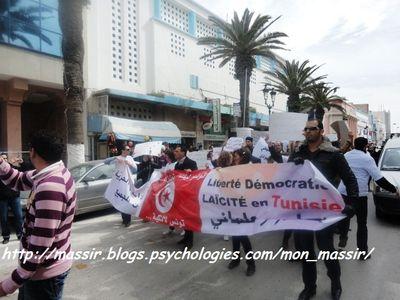 Marche laïcité Sousse 13