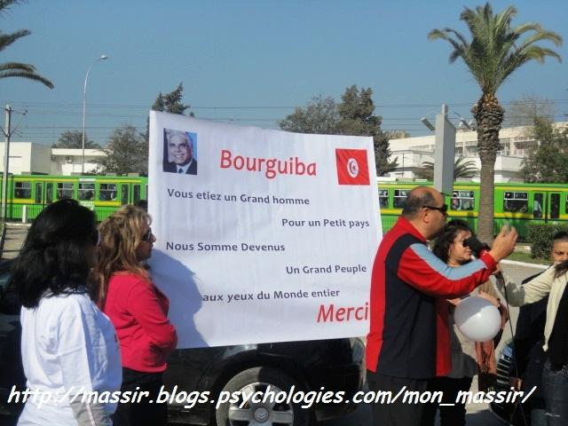 Hommage Habib Bourguiba 1