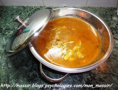 Soupe au poulet à l'asiatique