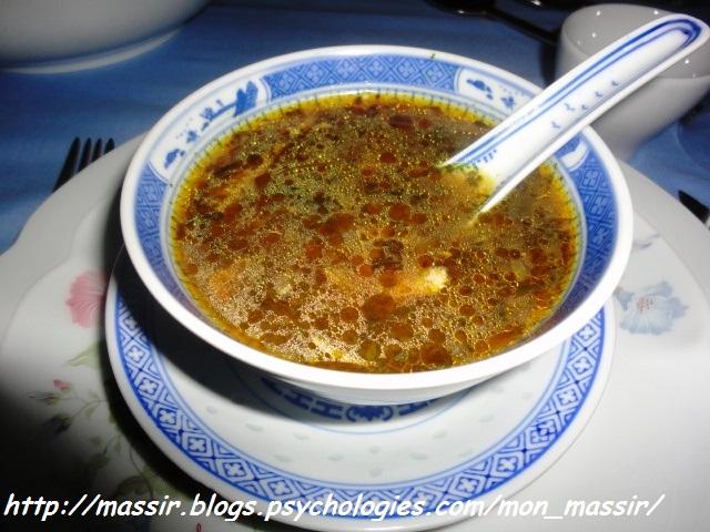 Soupe chinoise au poulet 01