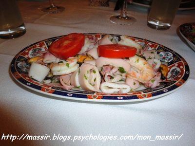 DJ Salade fruits de mer
